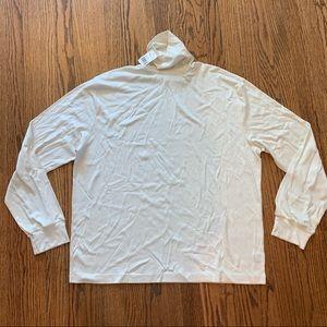 Polo Ralph Lauren Cream Turtleneck Shirt size XXL